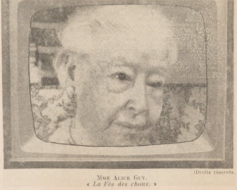 Alice Guy en 1963 (D.R.)