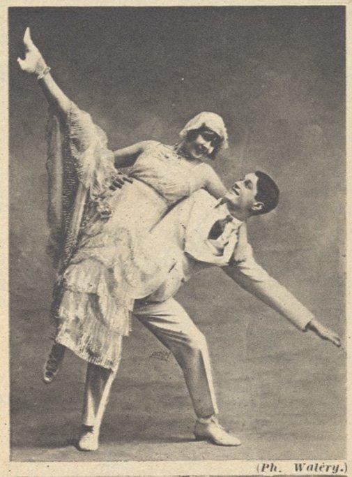 Avec Mistinguett (paru dans Pour Vous du 17 décembre 1931)