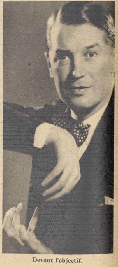 paru dans Pour Vous du 31 décembre 1931
