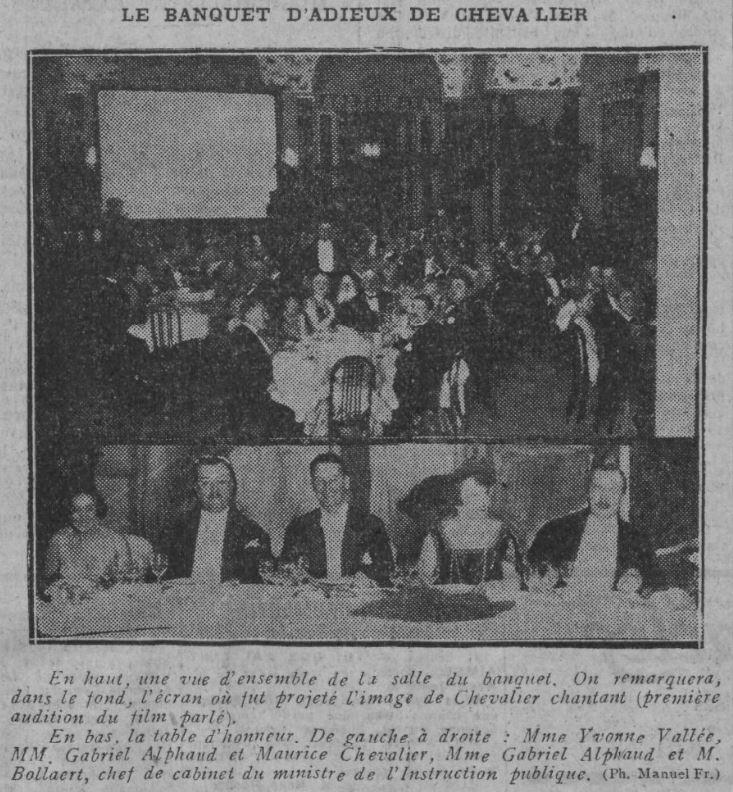Paru dans Comoedia du 10 octobre 1928