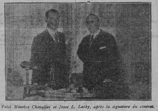 Paru dans Comoedia du 21 juin 1928