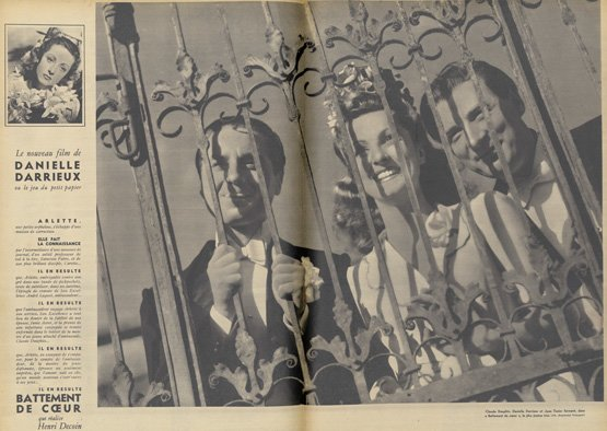 paru dans Pour Vous du 2 août 1939