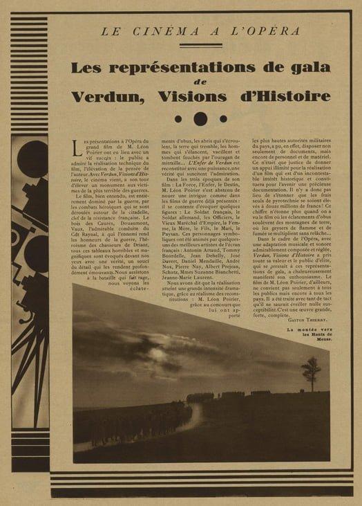 Cinémonde du 16 Novembre 1928