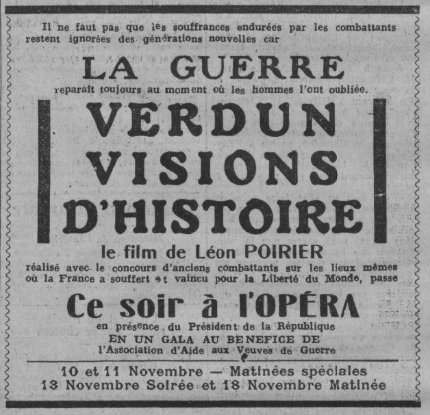 paru dans Comoedia du 8 novembre 1928