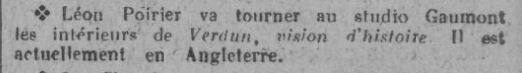 paru dans Comoedia du 14 janvier 1928