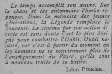 paru dans Comoedia du 16 juin 1928