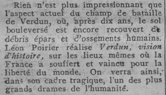 paru dans Comoedia du 17 mai 1928