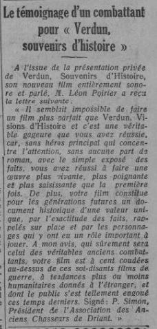 paru dans Comoedia du 28 octobre 1931