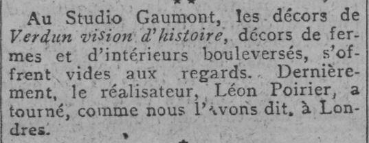 paru dans Comoedia du 30 janvier 1928