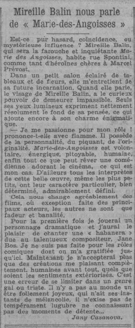 paru dans Paris-Soir du 2 mai 1935