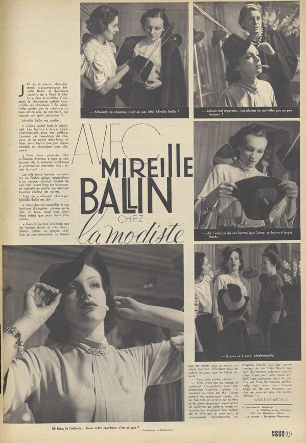 paru dans Pour Vous du 20 Mai 1937