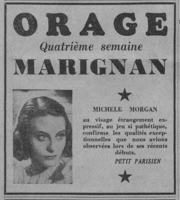 paru dans Paris-Soir du 06 février 1938