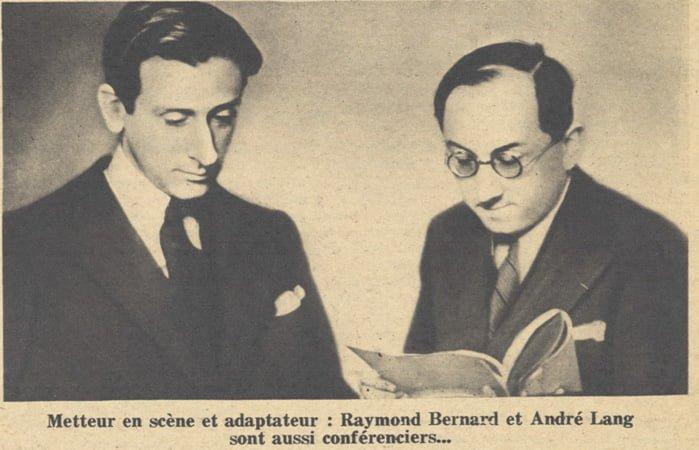 paru dans Pour Vous du 10 Août 1933