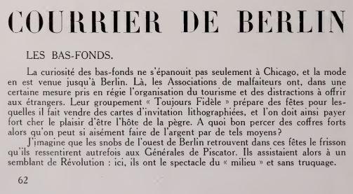 paru dans La Revue du Cinéma du 1 août 1931