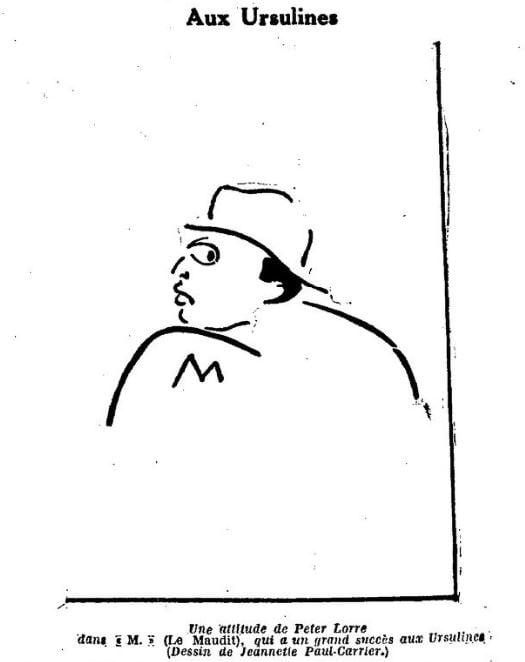 paru dans La Semaine à Paris 21 avril 1932