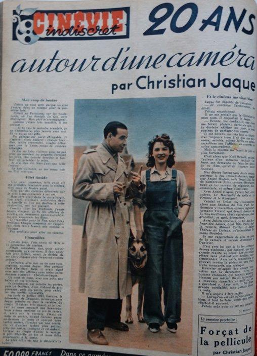 paru dans Cinévie du 3 septembre 1946