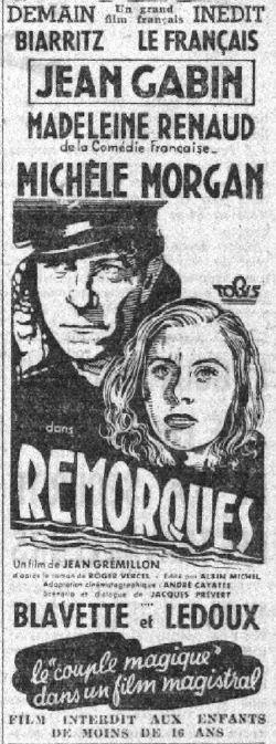 paru dans Le Petit Parisien du 26 novembre 1941