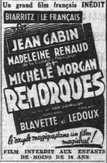 paru dans Le Petit Parisien du 28 novembre 1941