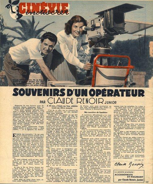 paru dans Cinévie du 12 novembre 1946