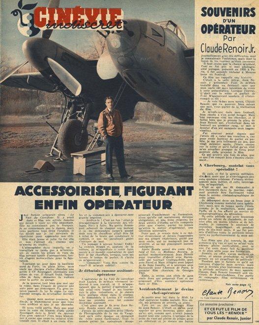 paru dans Cinévie du 19 novembre 1946