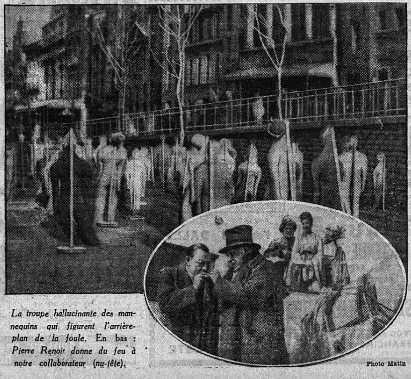 paru dans Le Matin du 11 mars 1944