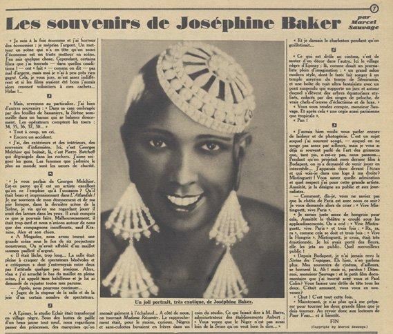 paru dans Pour Vous du20 Novembre 1930