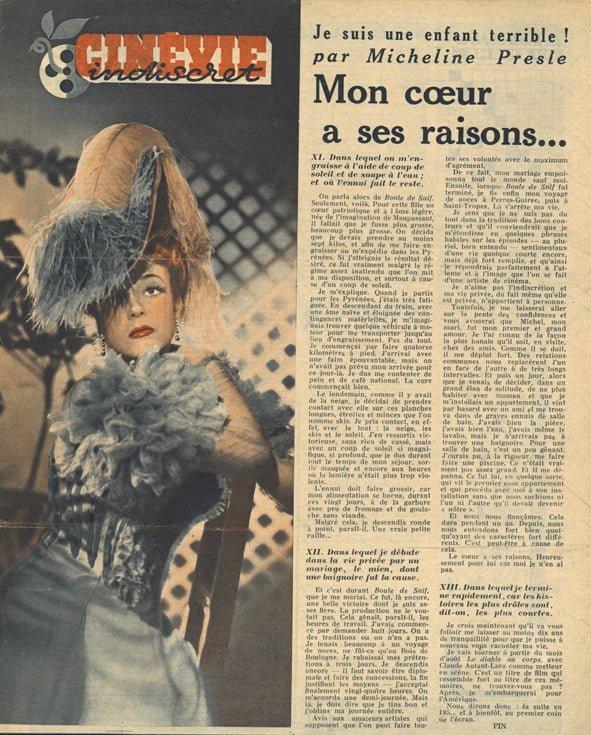 paru dans Cinévie du 11 juin 1946