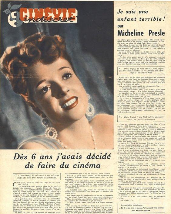 paru dans Cinévie du 28 mai 1946