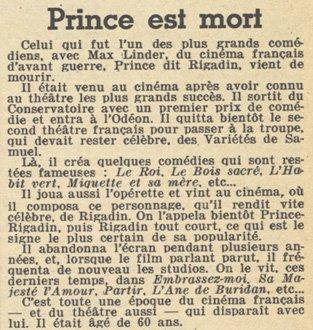 paru dans Pour Vous du 20 juillet 1933